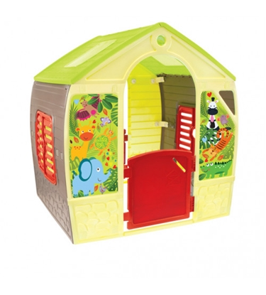 Изображение Bērnu dārza mājiņa HAPPY HOUSE 102x88x108 cm 11976