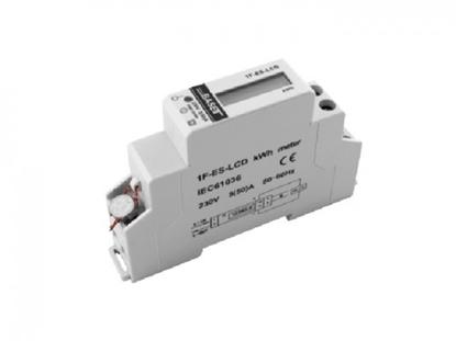 Picture of Vienfāzes elektrības skaitītājs ProBase, 0.25-50A, 230/240V, 1x DIN