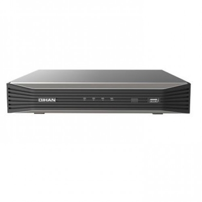 Attēls no 8 kanālu ieraksta ierīce NVR,H265,2 HDD,VGA,HDMI,Audio 1 Ch I/O,