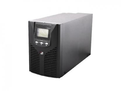 Изображение 1000 Pro, Online UPS HF 1KVA, PF0.9,2*9AH, 220V50HZ, EU kontaktligzda un kontaktdakša