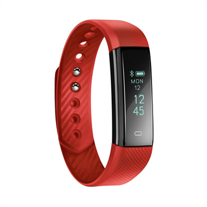 Изображение Acme Activity tracker ACT101R Steps and distance monitoring, OLED, Red, Bluetooth,