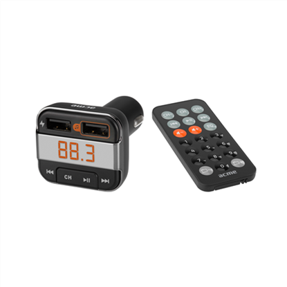 Attēls no ACME F330 Bluetooth FM transmitter & charger