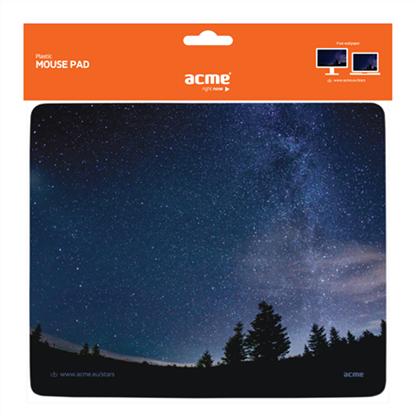 Picture of ACME Plastic Mouse Pad, night stars