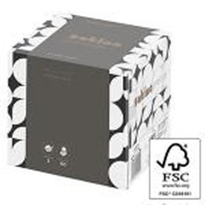 Изображение Kosmētiskās salvetes Cube prestige 3 slāni 60gab.
