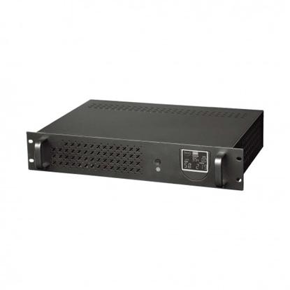 Изображение 1200VA / 720W Rack Line-Interactive Nepārtrauktās barošanas bloks (UPS), akum. 2x7Ah