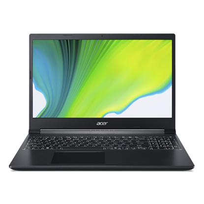 """Изображение Acer Aspire 7 A715-41G-R944 Charcoal Black, 15.6 """", FHD, 1920 x 1080 pixels, Matt, AMD, Ryzen 7 3750H, 8 GB, DDR4, SSD 512 GB, NVIDIA GeForce GTX 1650, GDDR6, 4 GB, No ODD, Windows 10 Home, 802.11 ax/ac/a/b/g/n, Bluetooth version 5.0, Keyboard langua"""