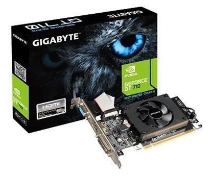 Attēls no VGA PCIE8 GT710 2GB GDDR3/GV-N710D3-2GL V2.0 GIGABYTE
