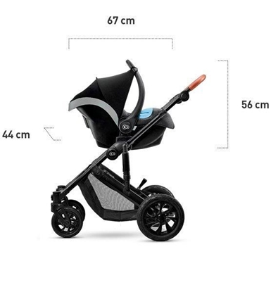 Attēls no Baby Jogger City mini 3 Jogging stroller 1 seat(s) Grey, stainless steel