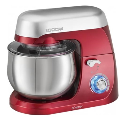 Picture of Bomann KM 6009 CB food processor 5 L Red 1000 W