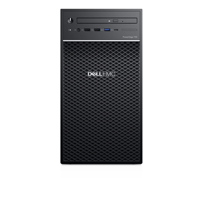 Attēls no DELL PowerEdge T40 server Intel Xeon E 3.5 GHz 8 GB DDR4-SDRAM Mini Tower 300 W