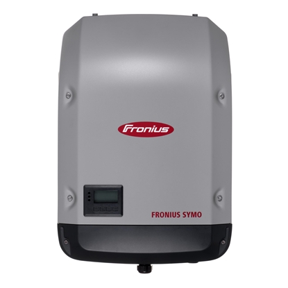 Picture of Fronius Symo 4.5-3-S power adapter/inverter Indoor 4500 W Black, Gray