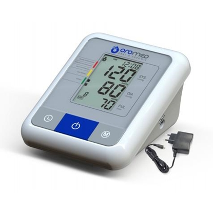 Picture of HI-TECH MEDICAL ORO-N1 BASIC+ZAS blood pressure unit Upper arm Automatic