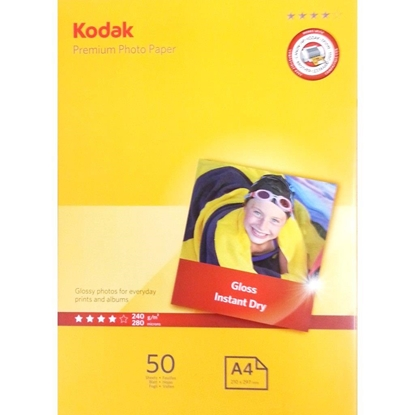 Attēls no Kodak Premium photo paper White Gloss 10x15 cm