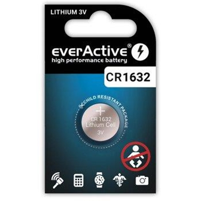 Picture of Lithium battery mini everActive CR1632
