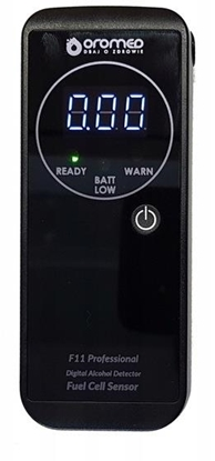 Picture of OROMED F11 PROFESSIONAL alcohol tester Black