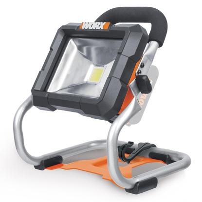 Изображение WORX WX026.9 work light LED Black,Orange
