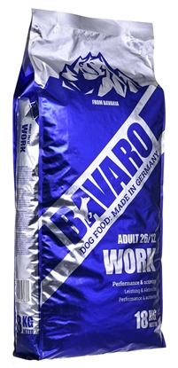Attēls no Josera BAVARO WORK ADULT 26/12 – 18KG Vegetable 15 kg