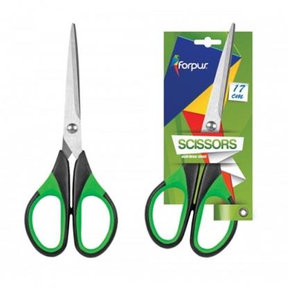 Изображение Scissors Forpus, 17cm, rubberized
