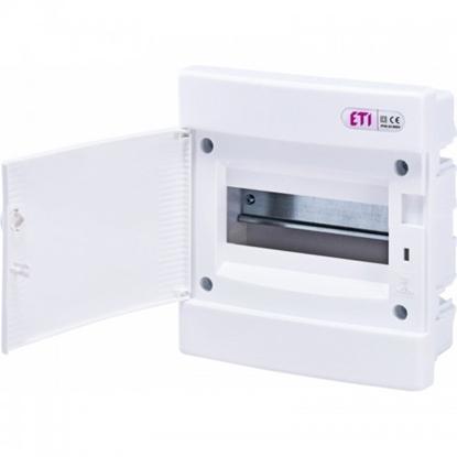 Attēls no ECM12PO plast. sadalne 36 mod. z/a,  baltas durvis IP40, 28 PE / 4x6 N