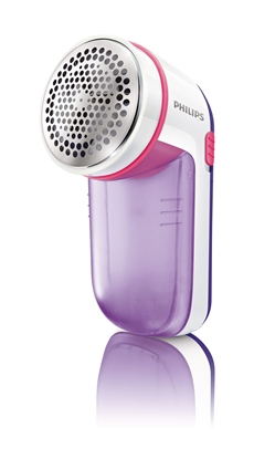 Attēls no Philips Fabric Shaver GC026/30 Purple/White, Battery powered