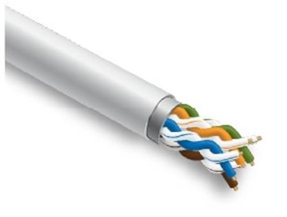 Изображение Datortīklu kabelis, NETWORK EXPERT, CAT5E FTP,  iekšdarbu montāžai, 305m