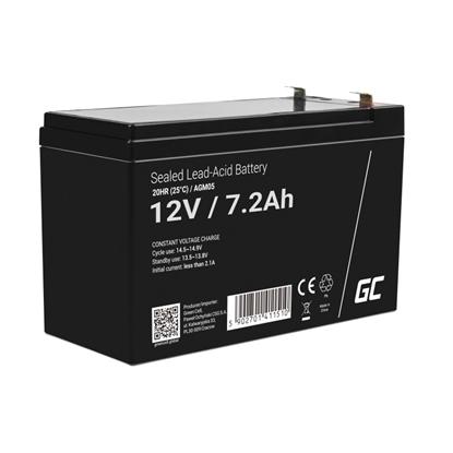 Attēls no Akumulator żelowy 12V 7.2Ah