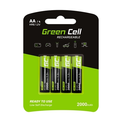 Picture of GREENCELL GR02 Green Cell 4x Akumulator