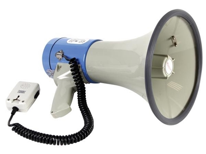 Изображение Velleman MP25SFM Megafons 25W ar noņemamu mikrofonu (MEGAPHONE35)