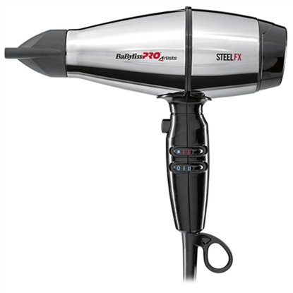 Picture of BABYLISS Hair Dryer BAB8000IE STEELFX Ionic function, 2000 W, Stainless Steel