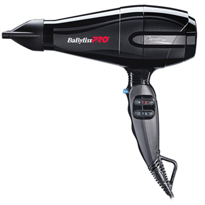 Picture of BABYLISS Hair Dryer BAB6510IE CARUSO Ionic function, 2400 W, Black