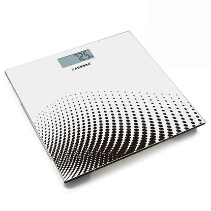 Изображение Aurora AU4314 personal scale Square White Electronic personal scale