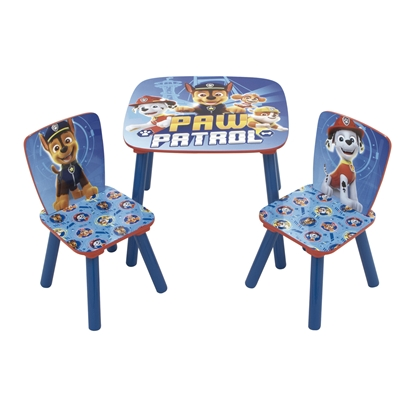 Attēls no ARDITEX Disney Paw Patrol koka galds & 2 krēslii