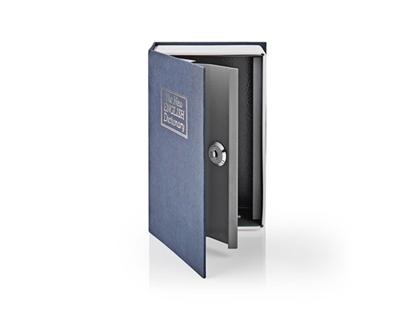 Attēls no BOOKSEDS01BU Grāmata-seifs (16.8 x 10.7 x 4.8 sm)