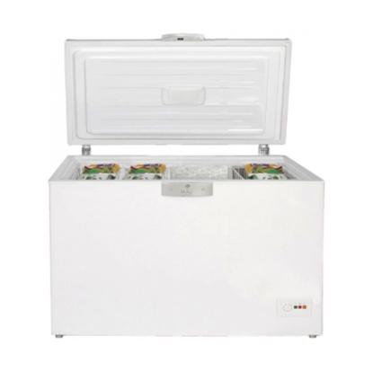 Attēls no BEKO Freezer box HSA40530N, Energy class F (old A+), 360L , White