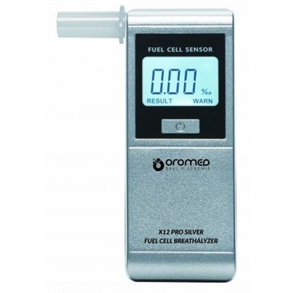 Picture of Oromed X12 PRO SILVER alcohol tester