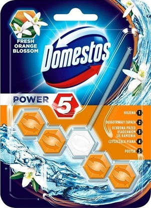 Picture of Domestos Power 5 Disinfecting cleaner Solid Orange