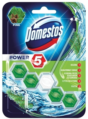 Picture of Domestos Power 5 Disinfecting cleaner Solid Pine