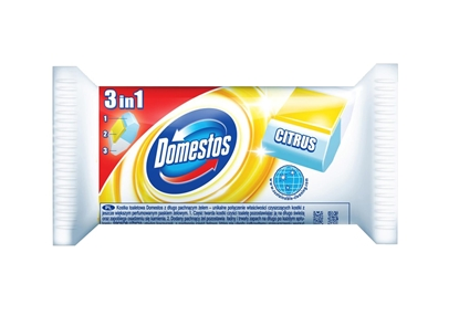 Picture of Domestos 3in1 WC Toilet Block Citrus 1x40g