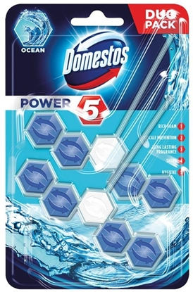 Picture of Domestos Power 5 Disinfecting cleaner Solid Ocean