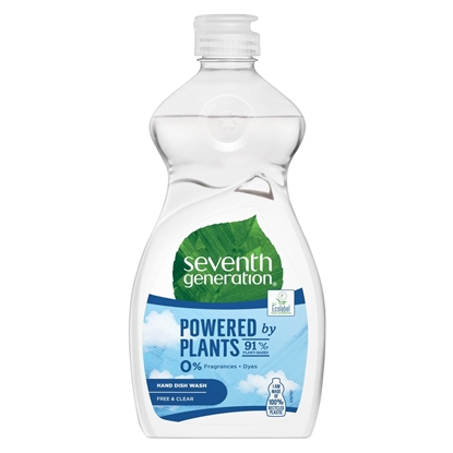 Attēls no Seventh Generation Washing-up Liquid Free & Clear 500 ml