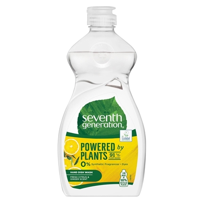 Attēls no Seventh Generation Washing-up Liquid Fresh Citrus Fruit 500 ml