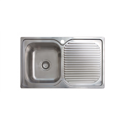 Изображение CATA Sink CD-1 Top mount, Square, Number of bowls 1, Stainless steel, Stainless steel