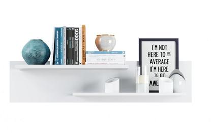 Изображение Tuckano Shelf 110x25x23 CANADA white high gloss
