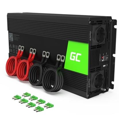 Picture of GREEN CELL Voltage Car Inverter 12V