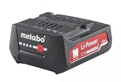 Attēls no Akumulators 12V / 2,0 Ah, Li - Power, Metabo
