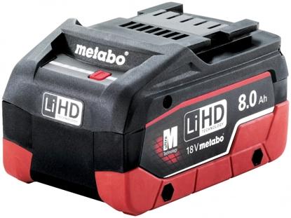 Attēls no Akumulators 18V / 8,0 Ah LiHD, Metabo