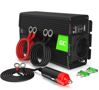 Picture of GREENCELL Car Power Inverter Converter