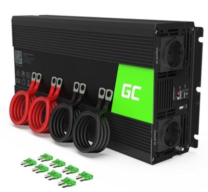 Picture of GREENCELL Inverter 12V - 230V 3000W