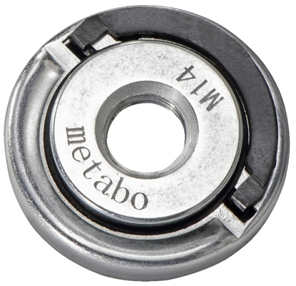 Attēls no Flange nut, M14, for all single hand angle grinders, Metabo
