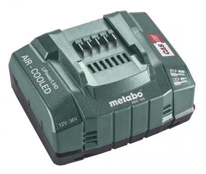Picture of Akumulatora lādētājs ASC145 12-36 V, Aircooled, Metabo